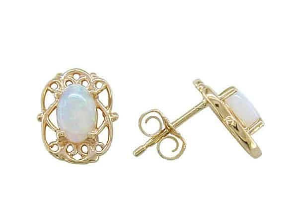 Beautiful Opal Girls Earrings Pictures
