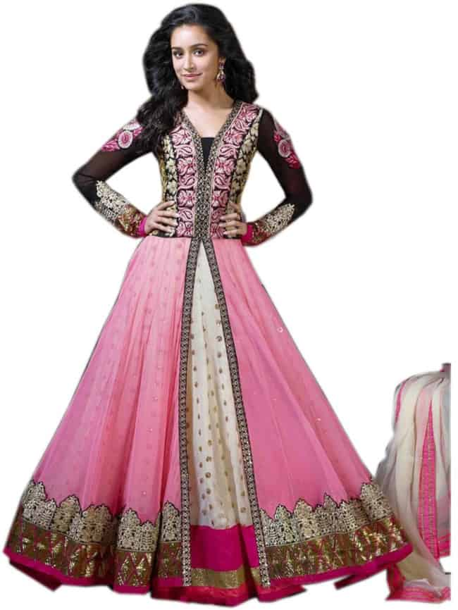 Beautiful Pink Heavy Designer Anarkali Suits 2016