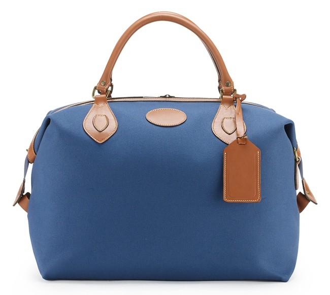 Blue Leather Travel Bags for Ladies 2016-17