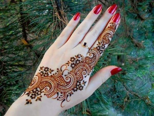 Bridesmaids Arabic Mehndi Designs 2016