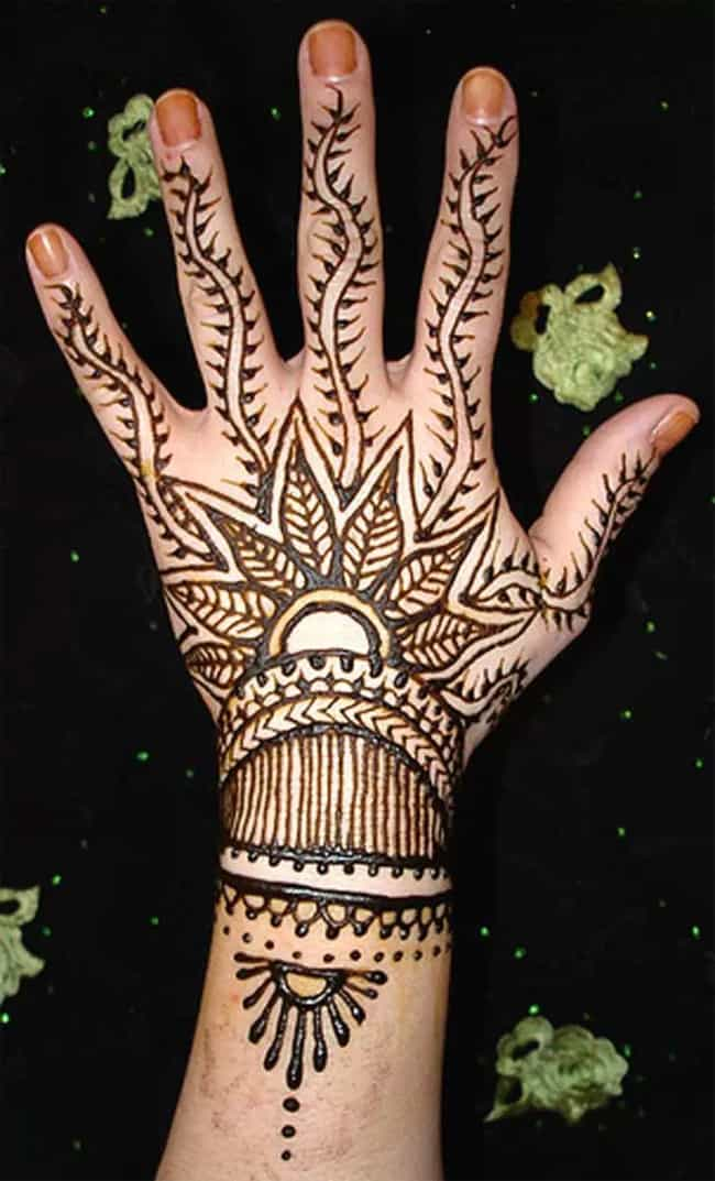 Bridesmaids Hand Mehndi Designs for Wedding