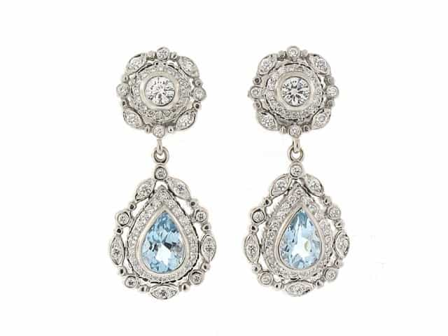 17 Adorable Aquamarine Earrings Sheideas