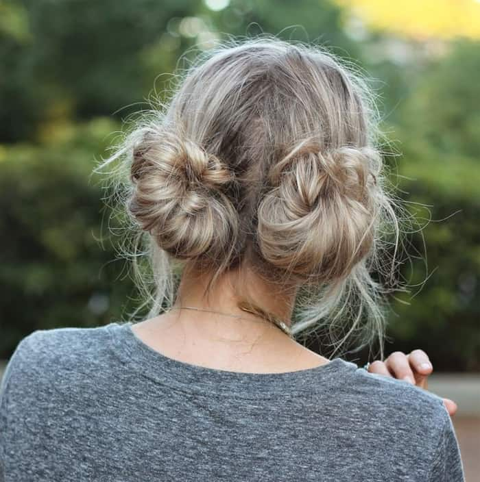 15 Stylish And Fashionable Bun Hairstyles Ideas Sheideas