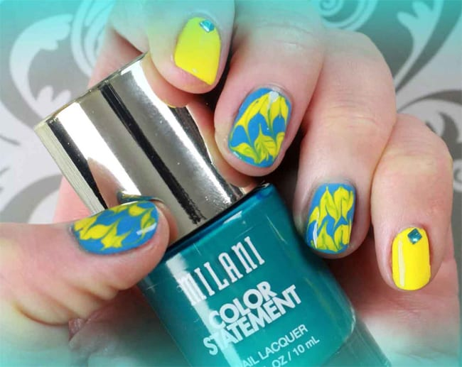 Easy DIY Beach Nail Designs
