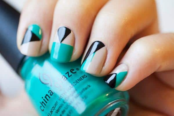 Fantastic Geometric Nails Patterns 2017