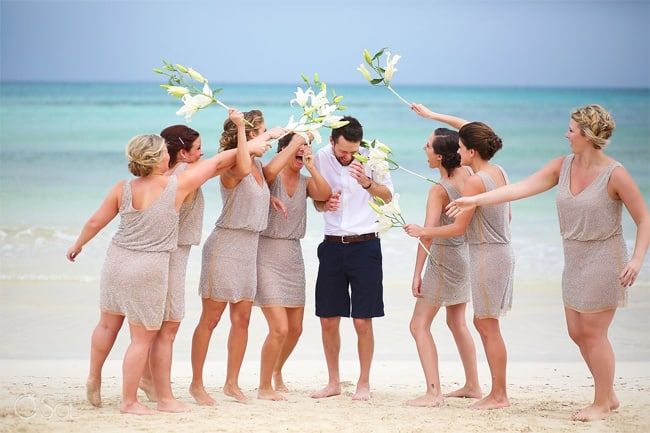 Funny Beach Wedding Pictures