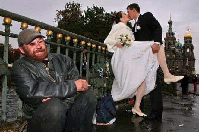 Funny Russian Wedding Photos