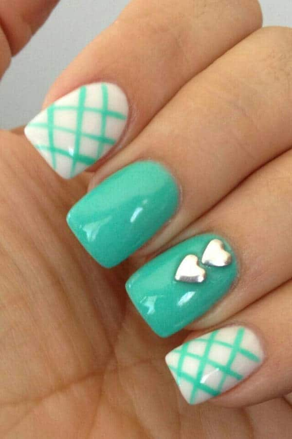 Great Beach Style Nail Pattern Designs