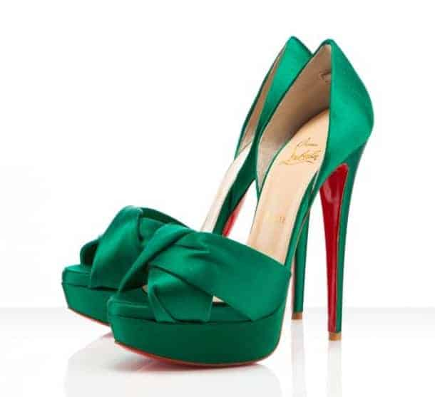 Green Engagement Shoes for Women 2018