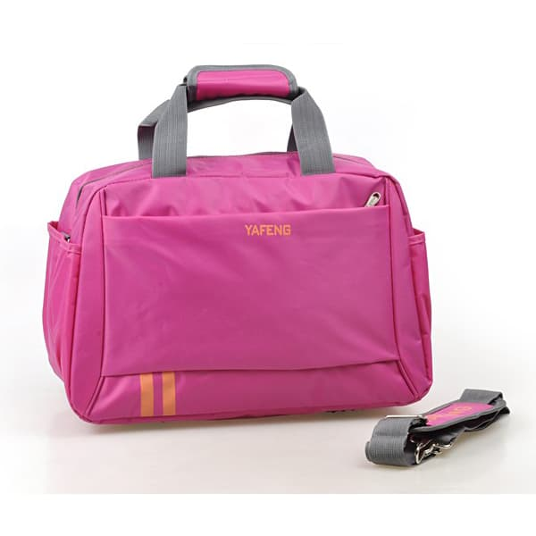 Hot Pink Portable Ladies Travel Handbags