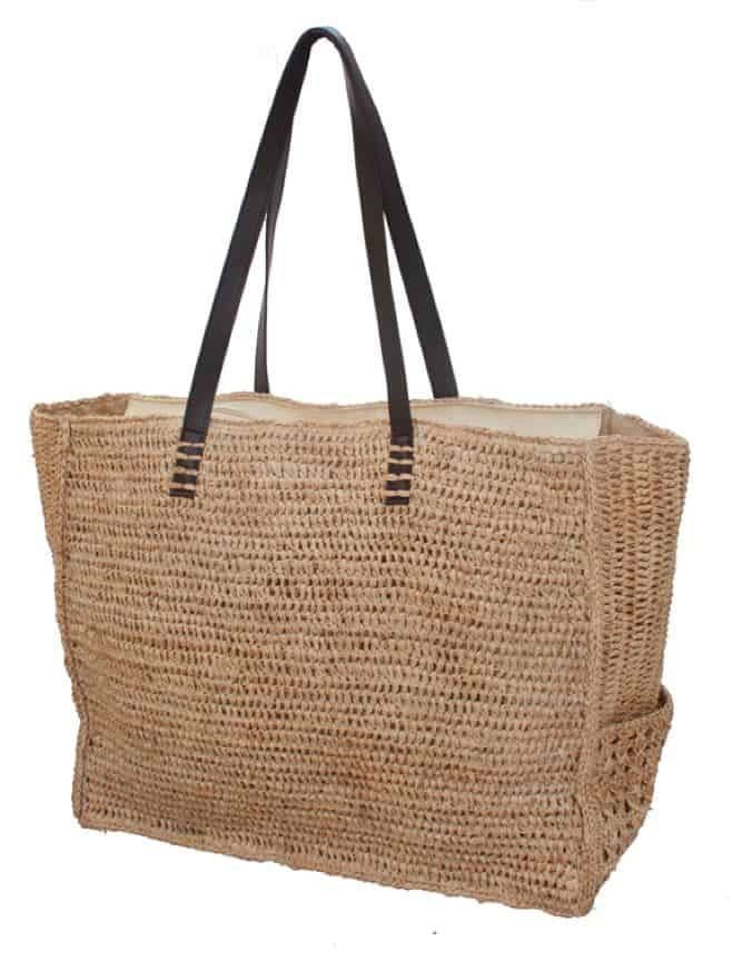 Latest Crochet Raffia Shoulder Beach Tote Bag 2016