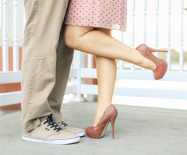 Latest Engagement Footwear Trends