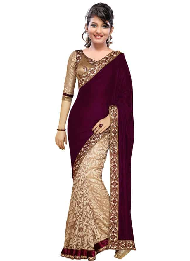 20 Exclusive Party Wear Sarees - SheIdeas