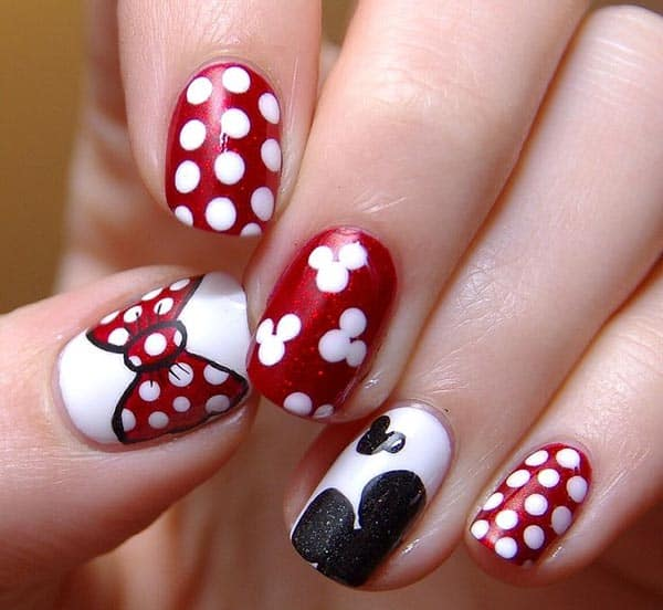Latest Nail Art Patterns for Short Nails 2016