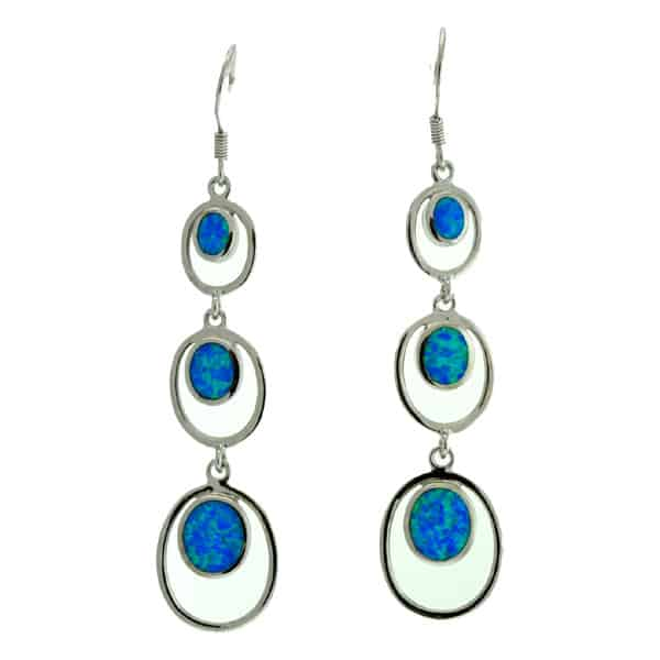 Latest Ocean Opal Party Earrings for Girls