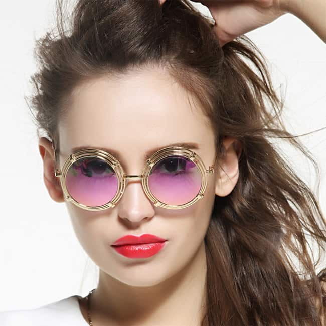 Latest Vintage Round Sunglasses for Women