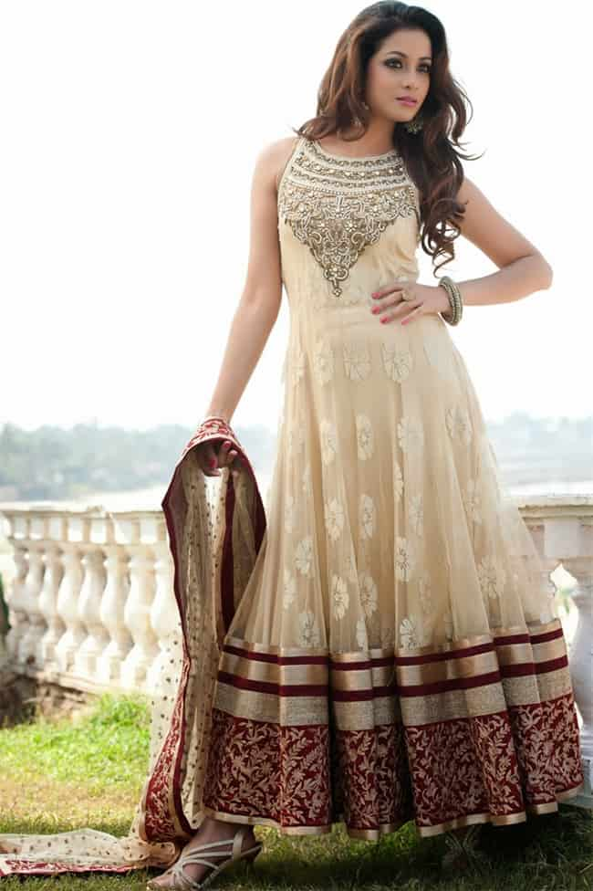 Modern Girls Anarkali Suits for Evening Party