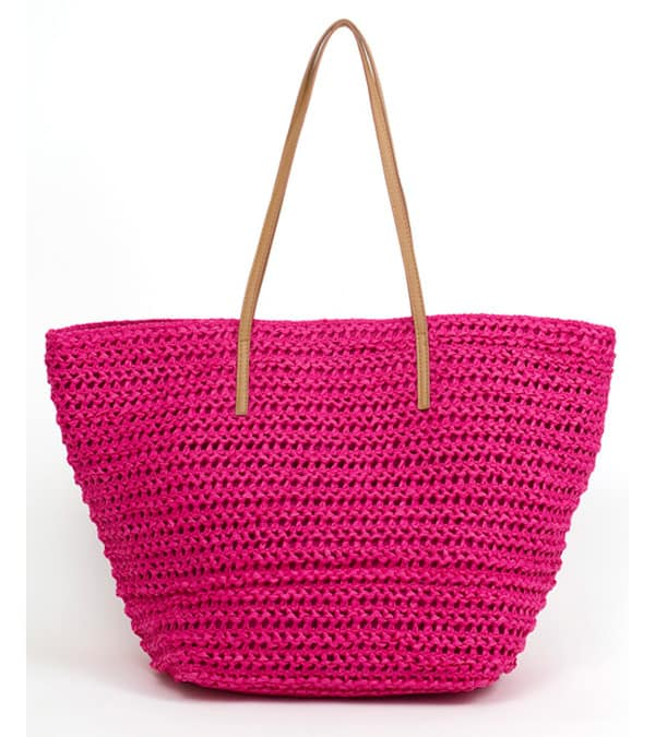 New Magid Straw Beach Bags for Summer