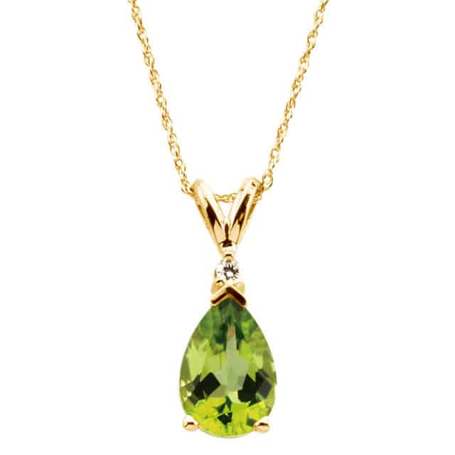 New Peridot Jewelry Designs for Women