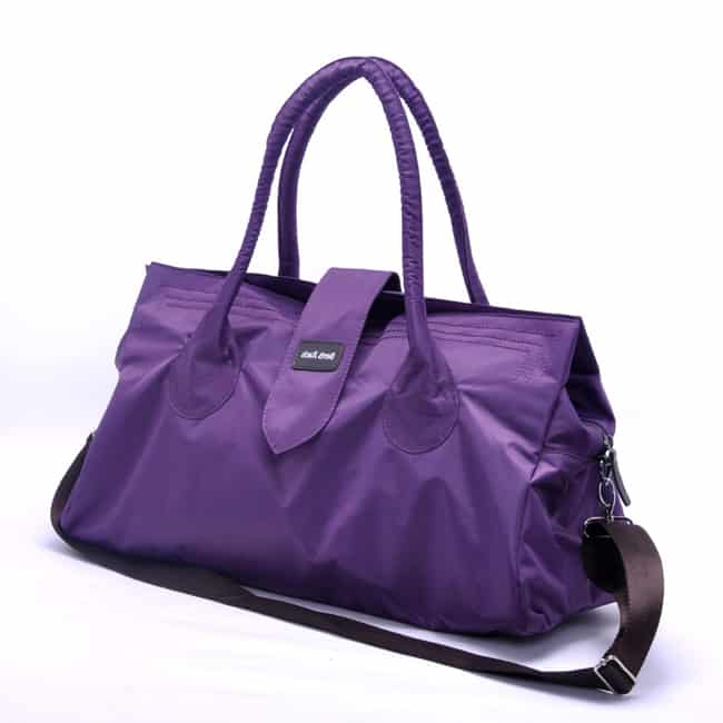 New Purple Nylon Shoulder Handbag for Ladies