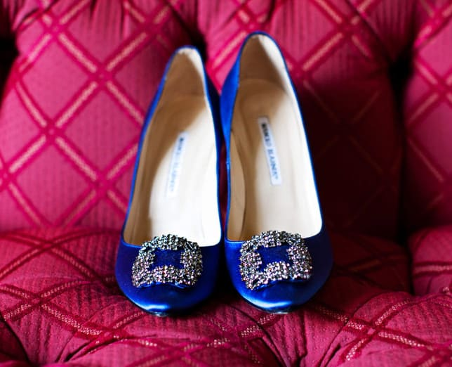 New Royal Blue Engagement Shoes Designs