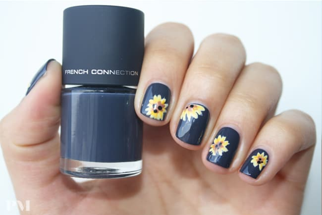 Outstanding Sunflower Nail Designs for Sunny Days