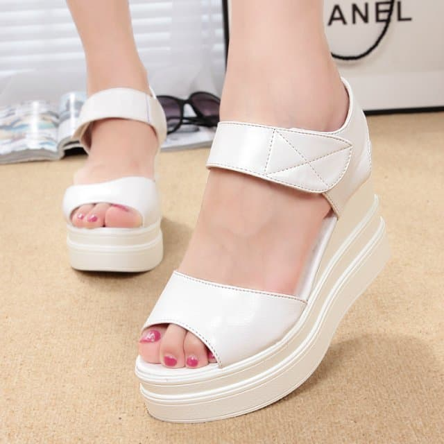 Platform Wedges Comfortable Summer Shoes for Casual