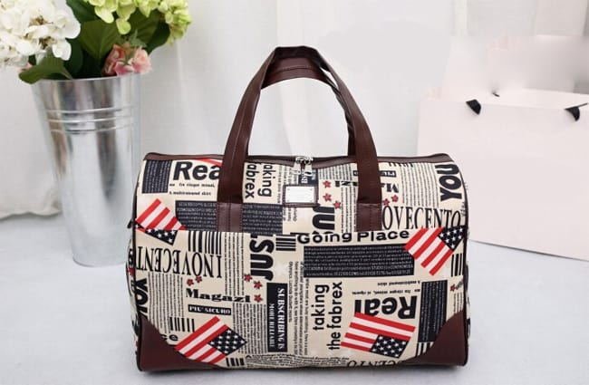 Printed Style Women Travel Handbags 2018