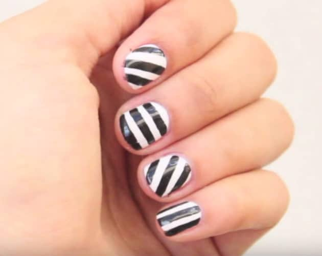 Simple Basic Patterns of Nails
