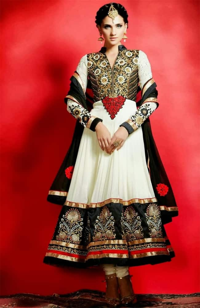 Trendy Designer Anarkali Salwar Kameez for Ladies