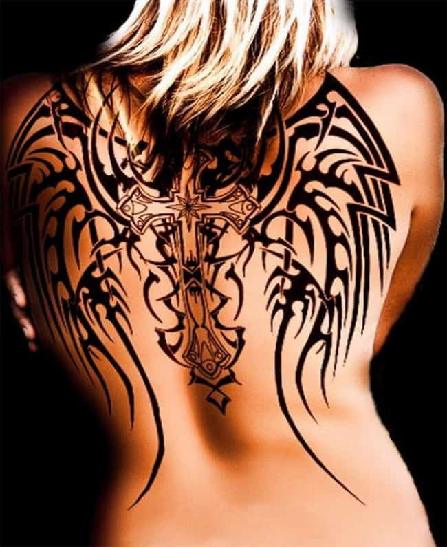 Tribal Celtic Cross Tattoo Designs Images