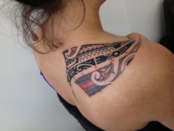 Women Polynesian Tattoos Examples 2017