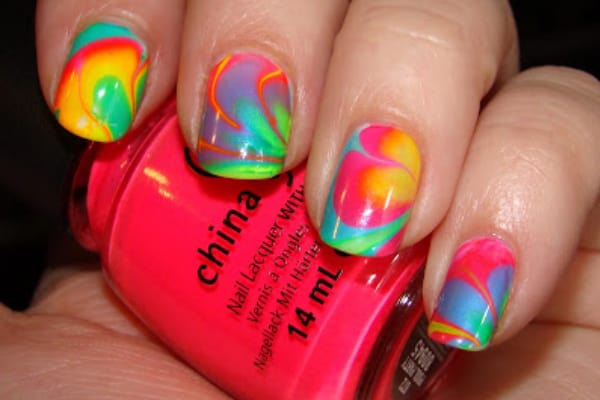Wonderful Beach Nail Polish Ideas Photo