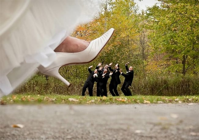 Wonderful Funny Wedding Photography