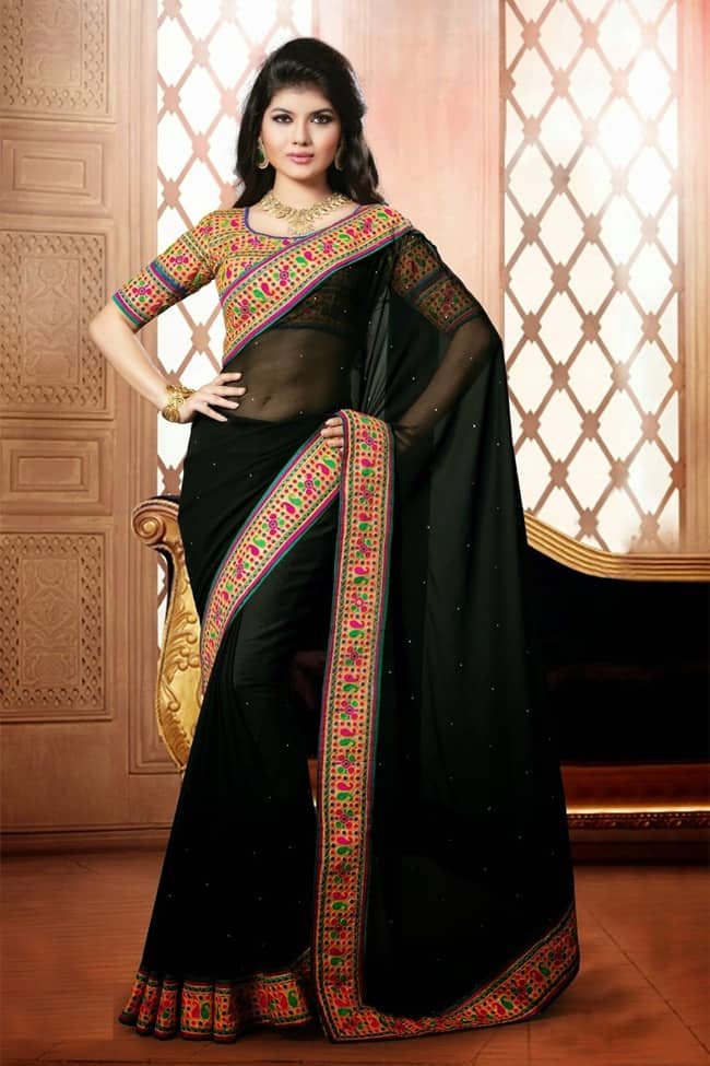 Wonderful Girls Sarees for Party 2017