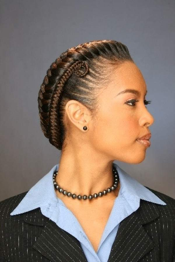 African Fishtail Braids Hairstyles for Women 2016-17