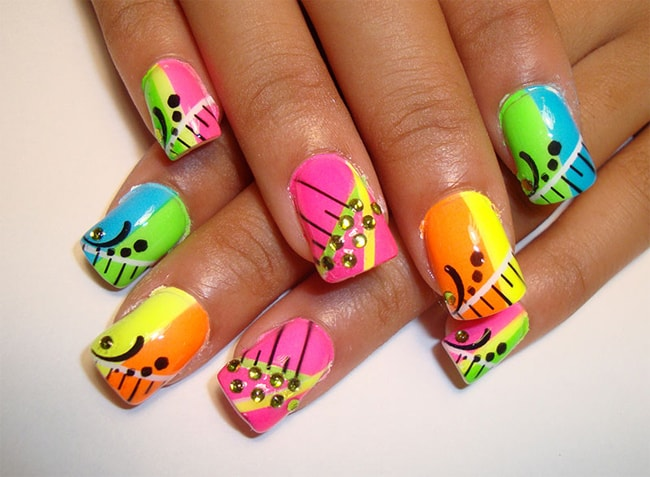 Amazing Funky Nail Design Ideas