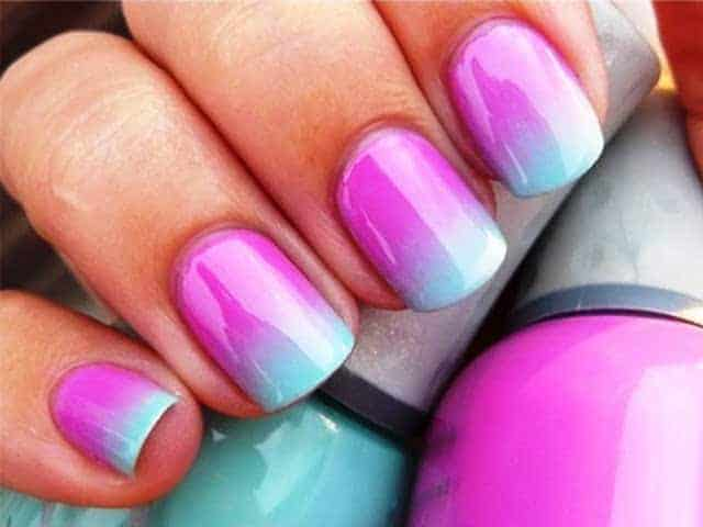 30 dazzling ombre nail art ideas for ladies sheideas ombre nail art prinsesfo Choice Image