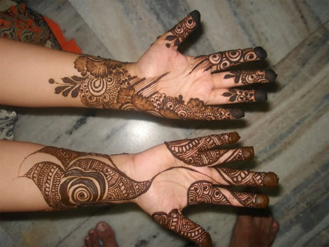 Amazing Rajasthani Mehndi Design Ideas