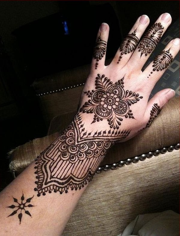 Awesome Eid ul Fitr Mehndi Designs for Girls