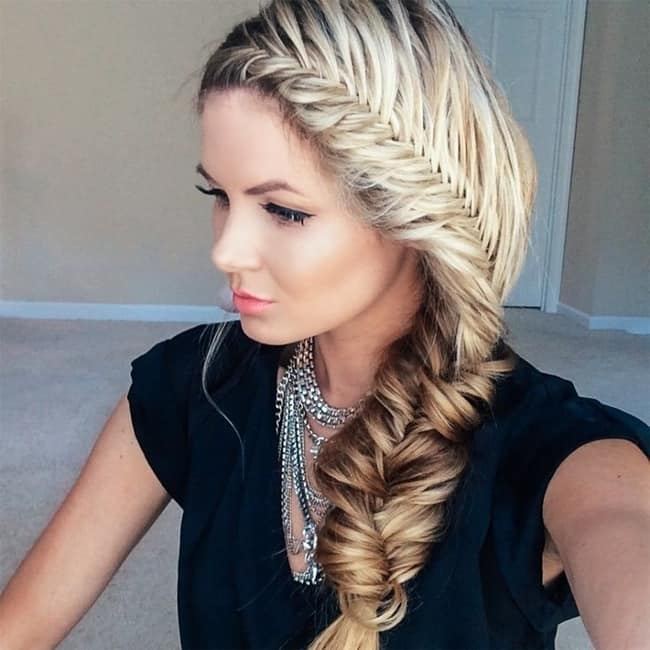 Awesome Fishtail Plait Hairstyles for Girls