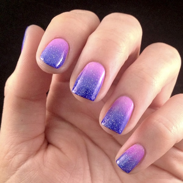 30 dazzling ombre nail art ideas for ladies sheideas for What is ombre design