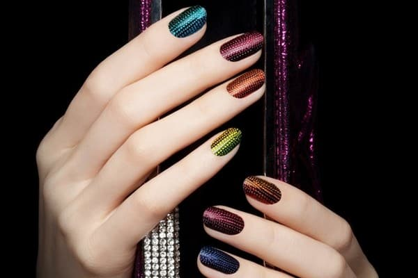 Beautiful Eid Nail Designs for Girls