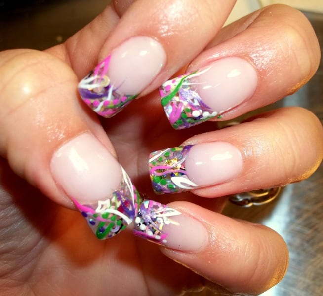 Beautiful Funky Nail Art Designs 2018