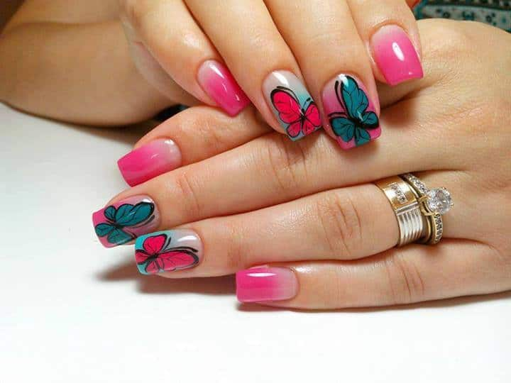 Funky Nail Art Designs
