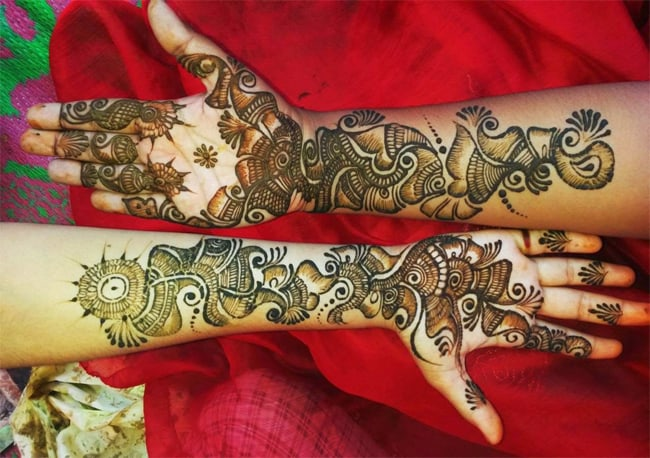 Cool Rajasthani Wedding Mehndi Designs 2016