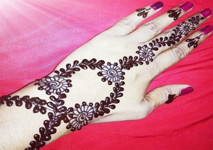 Mehndi Patterns Images : Latest dubai mehndi designs pictures sheideas