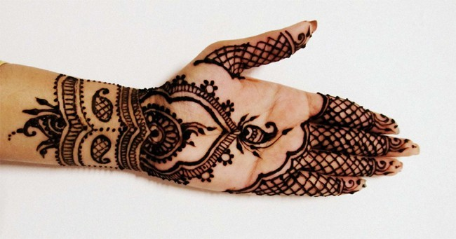 Easy Arabic Henna Designs for Eid ul Fitr