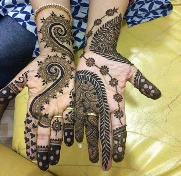 Mehndi Front Hand Design 2017 : Fascinating mehndi designs for eid ul fitr sheideas