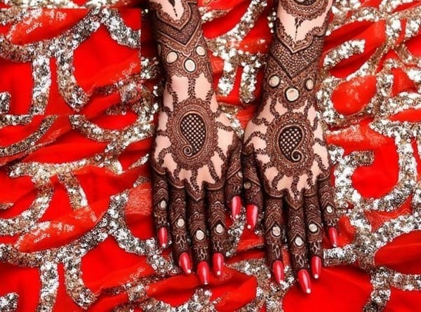 Good Rajasthani Bridal Henna Style Pictures